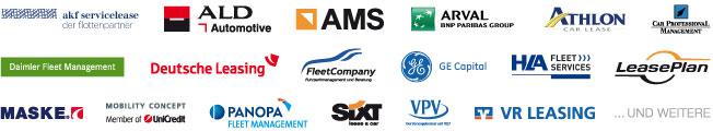 Hier eine Auswahl unserer Leasing-Partner