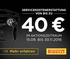 Pirelli Servicekostenerstattung