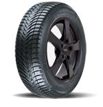 Michelin Alpin A4 auf Alufelge Dezent RE