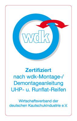 WDK Gütesiegel