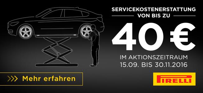 Servicekostenerstattung!