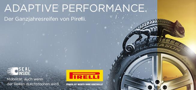 Der neue Pirelli CINTURATOTM ALL SEASON